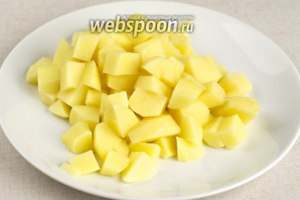 Варим картофель и рис