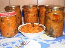 Грибная солянка на зиму с капустой рецепт приготовления