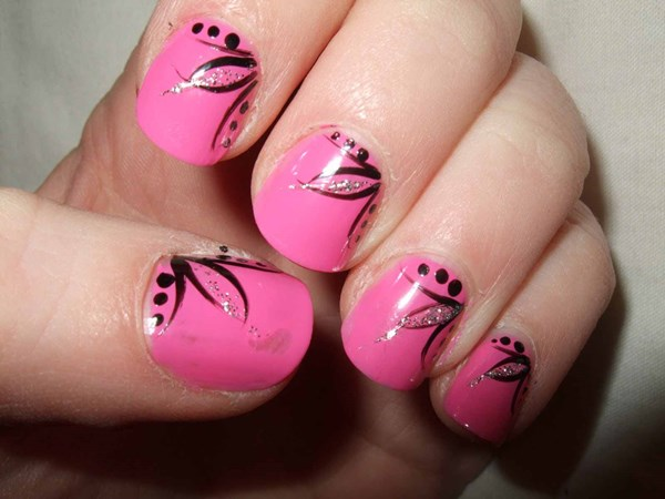 Как накрасить ногти красиво в домашних условиях видео