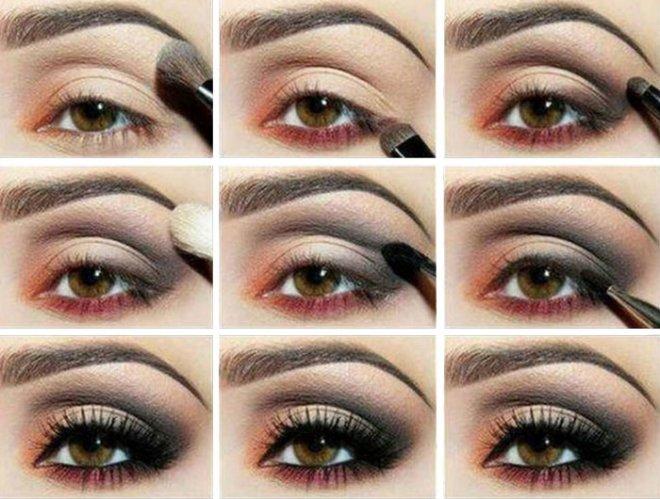 Как рисовать стрелки на глазах видео?