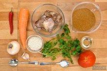 Ингредиенты для приготовления супа харчо в домашних условиях
