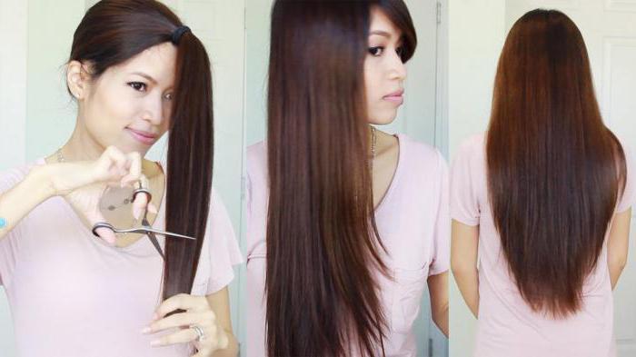 Как подстричь кончики волос самой