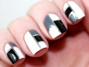 Как сделать квадратные ногти?