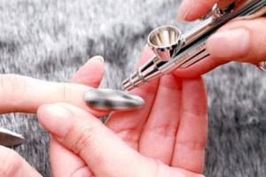 Аэрография на ногтях - видео уроки для начинающих