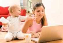 Как заработать в декрете деньги на дому? Работа в декрете сидя дома для мам!