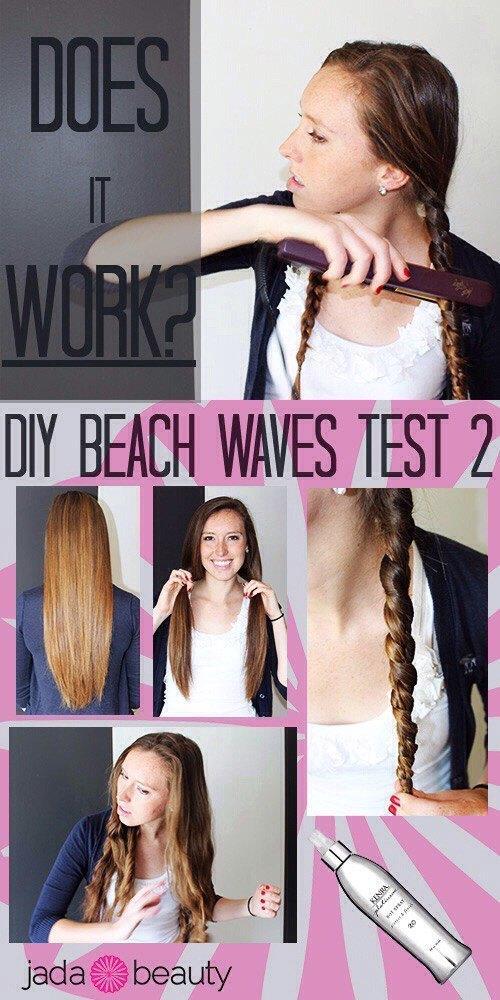 Как сделать легкие волны на волосах с помощью жгутов и выпрямителя?