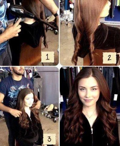 Как сделать «холодная» волны на волосах?