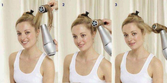 Как сделать легкие волны на волосах феном и брашингом?