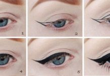 Как правильно рисовать стрелки на глазах?